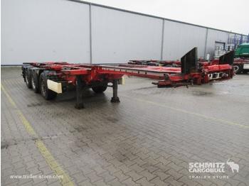 Container transporter/ swap body semi-trailer KRONE Auflieger Containerfahrgestell Slider
