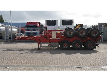Kässbohrer 3 AXLE CONTAINER TRAILER - container transporter/ swap body semi-trailer