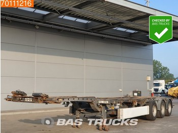Container transporter/ swap body semi-trailer Krone 2x20-1x30-1x40-1x45 ft 3 axles Multifunctional Chassis