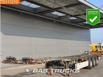 Container transporter/ swap body semi-trailer Krone 2x20-1x30-1x40-1x45 ft 3 axles Multifunctional Chassis: picture 1