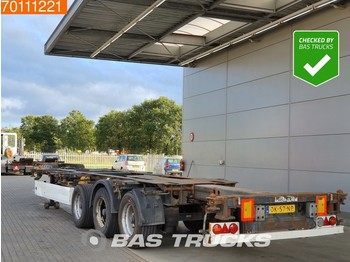 Container transporter/ swap body semi-trailer Krone SD 2x20-1x30-1x40-1x45 3 axles 2x Ausziehbar Extending-Multifunctional-Chassis