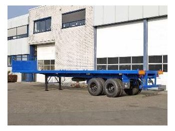 LOHR  - container transporter/ swap body semi-trailer