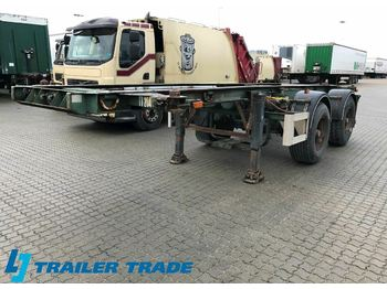 Pacton ,  - container transporter/ swap body semi-trailer