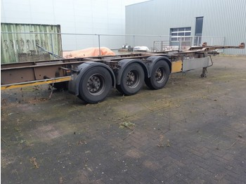 Container transporter/ swap body semi-trailer Pacton 3 Axles BPW 2 X 20ft or 40ft