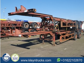 Pacton 40 FT 2 AXLES BPW full steel - container transporter/ swap body semi-trailer