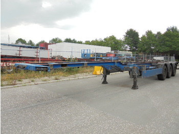 Pacton T3-007 - container transporter/ swap body semi-trailer