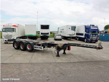 Pacton T3-010 20-30-40-45ft HC MULTICHASSIS 2 PIECES ADR BPW AXLES - container transporter/ swap body semi-trailer