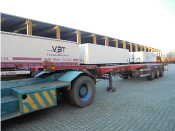 Container transporter/ swap body semi-trailer Pacton TXC 343-43: picture 1