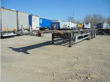 Renders Chassis - container transporter/ swap body semi-trailer