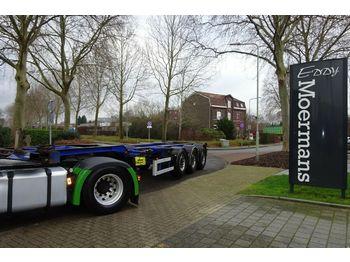 Ημιρυμουλκούμενος μεταφοράς εμπορευματοκιβωτίων/ κινητό αμάξωμα Renders Eur 901 Multichassis