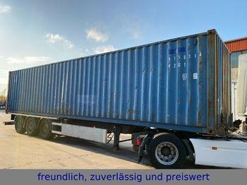 Ημιρυμουλκούμενος μεταφοράς εμπορευματοκιβωτίων/ κινητό αμάξωμα Renders *RSCC-E*40 FUSS*MERCEDES-ACHSEN*LIFTACHSE+CON *: φωτογραφία 1