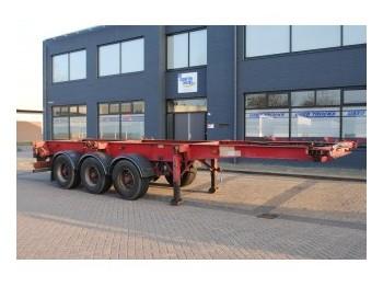 SDC 3 AXLE CONTAINER TRAILER - container transporter/ swap body semi-trailer