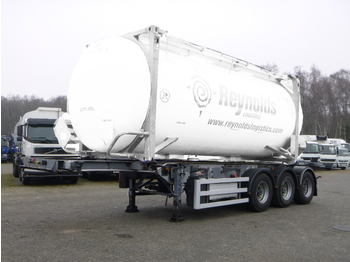 SDC 3-axle container trailer 20-30 ft + pump - container transporter/ swap body semi-trailer