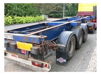 SDC Trailers - container transporter/ swap body semi-trailer