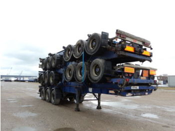 SDC Wechselfahrgestell - container transporter/ swap body semi-trailer