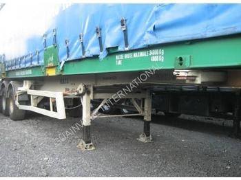 Container transporter/ swap body semi-trailer Samro