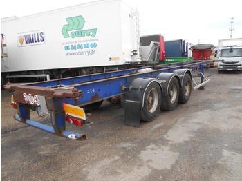 Container transporter/ swap body semi-trailer Trailor