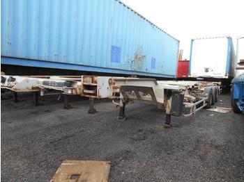 Container transporter/ swap body semi-trailer Trouillet