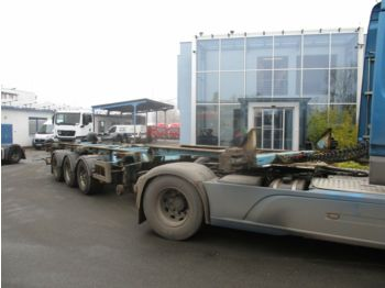 Container transporter/ swap body semi-trailer Van Hool