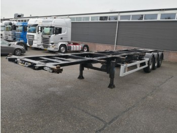 Container transporter/ swap body semi-trailer Van Hool 3B0070 3-As BPW - Disc Brakes - ADR - 7 units - 06/2019