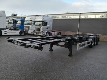 Container transporter/ swap body semi-trailer Van Hool 3B0070 3-As BPW - Disc Brakes - ADR - 7 units - 08/2019