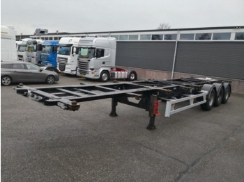 Container transporter/ swap body semi-trailer Van Hool 3B0070 3-As BPW - Disc Brakes - ADR - 7 units - 11/2019