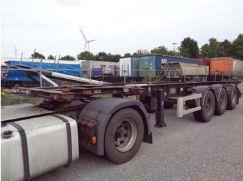 Container transporter/ swap body semi-trailer Van Hool 3B0070 ADR: picture 1