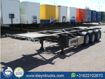 Container transporter/ swap body semi-trailer Van Hool 3B2005 adr chassis