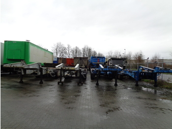 Container transporter/ swap body semi-trailer Van Hool 3H0010 ADR: picture 1