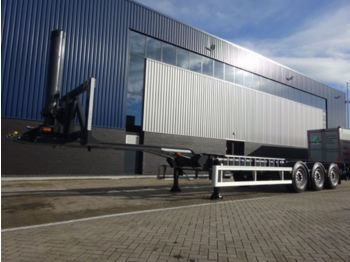 Container transporter/ swap body semi-trailer Van Hool Hydraulic Transport Systems