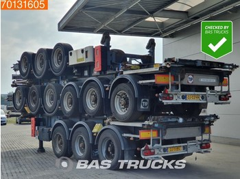 Container transporter/ swap body semi-trailer Van Hool Price per Unit! 3 axles ADR 1x 20 ft 1x30 ft Liftachse