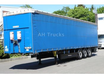 Berger SAPL 24 LTP/Extra Light/4.650 kg/SAF/Alu-Felgen  - curtainsider semi-trailer