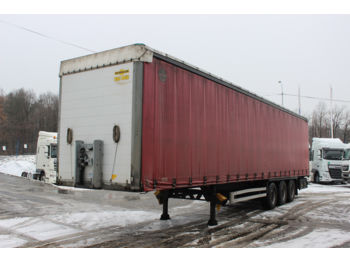 Curtainsider semi-trailer Humbaur HSA 2006 S, LIFTING AXLE
