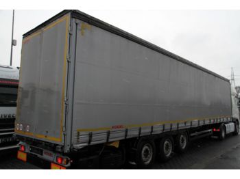 Curtainsider semi-trailer KÖGEL SEMI-TRAILER KOEGEL KÖGEL TARPAULIN S24