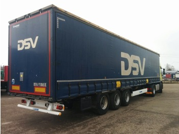 Curtainsider semi-trailer KRONE