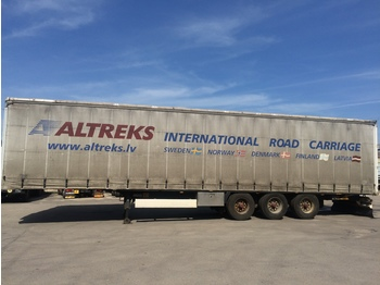 KRONE  - curtainsider semi-trailer