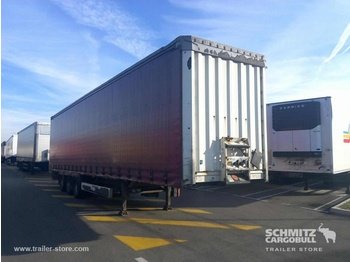 Krone Curtainsider Mega - curtainsider semi-trailer