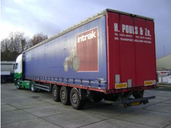 Curtainsider semi-trailer Krone SDP 27
