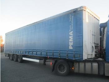 Curtainsider semi-trailer Krone SDP 27 MEGA-lowdeck: picture 1