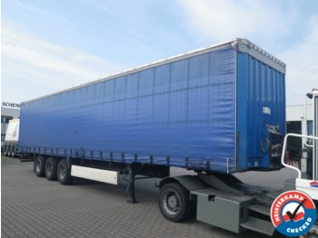 Krone SD BPW Drum, COIL, CODE XL Alu Sideboards - curtainsider semi-trailer