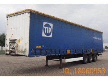 Krone TAUTLINER SDP27 - curtainsider semi-trailer