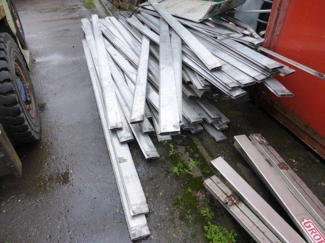 Aluminium trailer planken