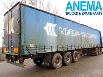 LAG 0-3-39 - curtainsider semi-trailer