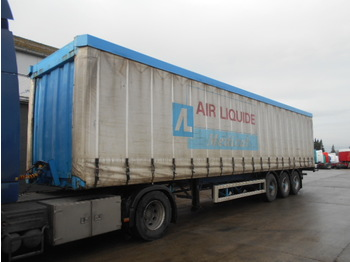 LAG 0-3-39 L (PERFECT CONDITION) - curtainsider semi-trailer