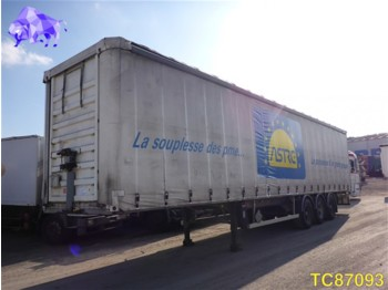 Curtainsider semi-trailer Lecitrailer Curtainsides