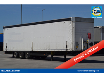 SCHMITZ Megatrailer Curtainsider - curtainsider semi-trailer