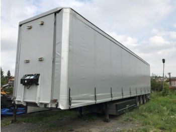 Curtainsider semi-trailer Schwarzmüller SPA 3/E + CONTAINER CARRIER