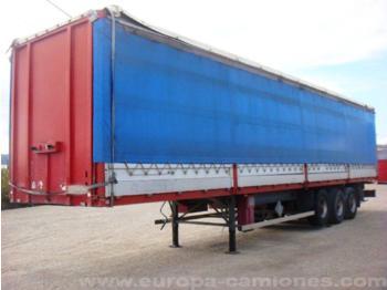 Benalu T34C Panel Truck Pliable Rigid Sides - curtainsider semi-trailer