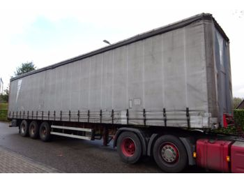 Curtainsider semi-trailer Burg BPDO 12 27