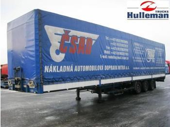 DIV PANAV NV35LPK PRITSCHE MIT PLANNE - curtainsider semi-trailer